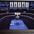 Chicago Blackhawks Please Stand Up With Red Text Sb by Thomas Woolworth