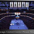 Chicago Blackhawks Please Stand Up With White Text Sb by Thomas Woolworth