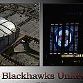 Chicago Blackhawks United Center 2 Panel Sb by Thomas Woolworth