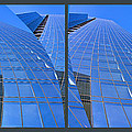 Chicago Blue Glass 1 by Theo OConnor