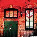Chicago Brick Facade 21st. Century by Ellen Cannon