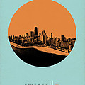 Chicago Circle Poster 2 by Naxart Studio