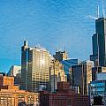 Chicago Cityscape During The Day by Jess Kraft