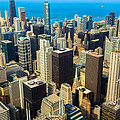Chicago Cityscape by Raul Rodriguez