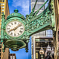 Chicago Clock Hdr Photo by Paul Velgos