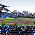 Chicago Cubs Pregame Time Panorama by Thomas Woolworth
