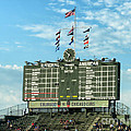 Chicago Cubs Scoreboard 02 by Thomas Woolworth