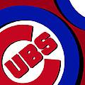 Chicago Cubs Football by Tony Rubino