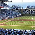 Chicago Cubs Up To Bat by Thomas Woolworth