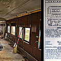 Chicago Eastern Il Rr Business Car Restoration With Blue Print by Thomas Woolworth
