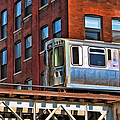 Chicago El And Warehouse by Christopher Arndt