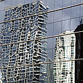 Chicago Facade Reflections by Thomas Woolworth