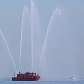 Chicago Fireboat by Adam Romanowicz