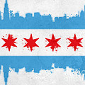 Chicago Flag by Mike Maher