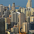 Chicago From Above - What A View by Christine Till