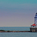 Chicago Harbor Lighthouse by Carolyn Stagger Cokley