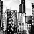 Chicago High Resolution Picture In Black And White by Paul Velgos