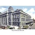 Chicago Illinois - Northwestern Railroad Station - 1927 by John Madison