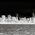 Chicago In Black And White by Patrick  Warneka