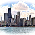 Chicago In The Spotlight by Frozen in Time Fine Art Photography