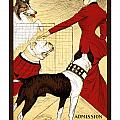 Chicago Kennel Club's Dog Show - Advertising Poster - 1902 by Pablo Romero