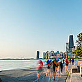 Chicago Lakefront Panorama by Steve Gadomski