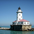 Chicago Lighthouse by Julie Palencia