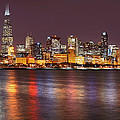 Chicago Lights 2 by Leda Robertson