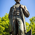 Chicago Lincoln Standing Statue Named The Man by Paul Velgos