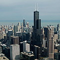 Chicago Looking East 04 by Thomas Woolworth