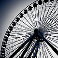 Chicago Navy Pier Ferris Wheel by Anthony Doudt