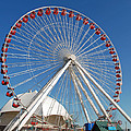 Chicago Navy Pier Ferris Wheel by Richard Bryce and Family