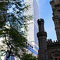 Chicago Old And  New by Cindi Snow