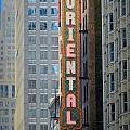 Chicago Oriental by Anita Burgermeister