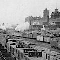 Chicago Railroads, C1893 by Granger