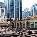 Chicago Rails by Rosanne Licciardi