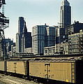 Chicago Railway Freight Terminal - 1943 by Mountain Dreams