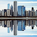 Chicago Reflected by Skip Willits