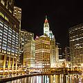 Chicago River by Andrew Slater