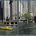 Chicago River Boat Rides 2 Panel by Thomas Woolworth