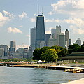 Chicago Skyline And Lakefront by Kris Johnsen