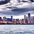 Chicago Skyline  by Patrick  Warneka
