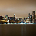 Chicago Skyline - Fog Rolling In by Anthony Doudt