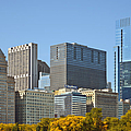 Chicago Skyline From Millenium Park II by Christine Till