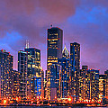 Chicago Skyline From Navy Pier View 2 by Ken Smith