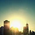Chicago Skyline IIi by Margie Hurwich