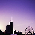 Chicago Skyline Iv by Margie Hurwich