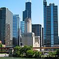 Chicago Skyline by J Havnen