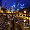 Chicago Skyline by Jonas Luis