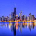 Chicago Skyline by Leslie McLain